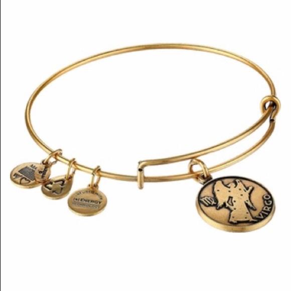 Alex and Ani Jewelry - Alex and Ani Virgo charm Bracelet